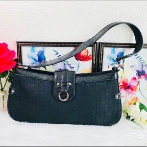 Alfani Leather Shoulder Bag